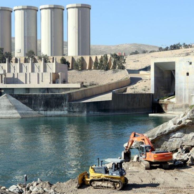 Iraq's Mosul Dam Seen At High Risk Of Failing, Deluging Millions
