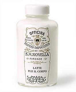 santa maria novella body milk