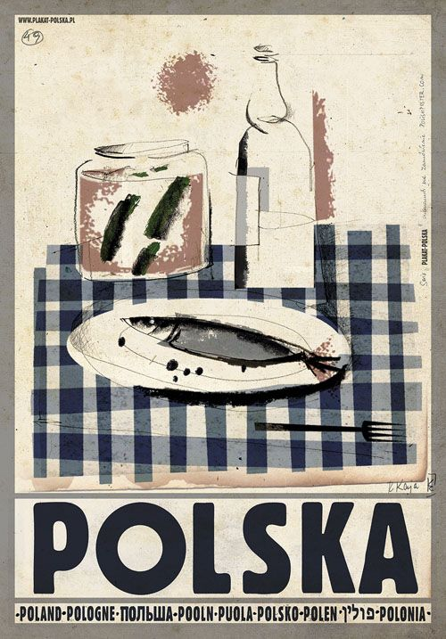 Polish Traditional Vodka, Polish Poster