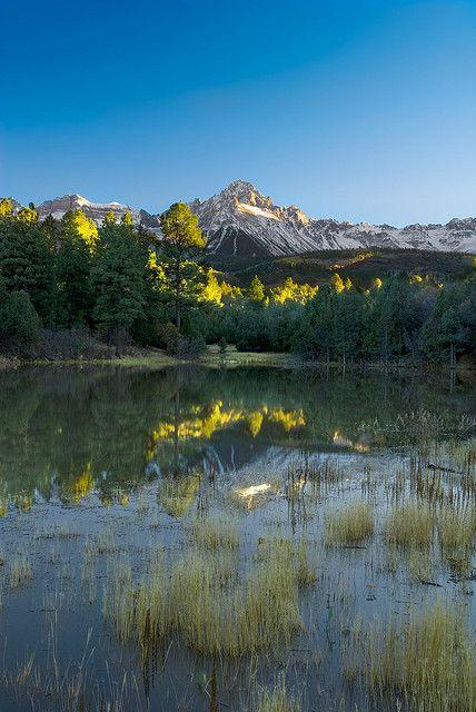 Mount Sneffles, Colorado; photo by Wayne Boland