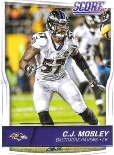 C.J. Mosley 2016 Score #31 Baltimore Ravens Alabama Crimson Tide