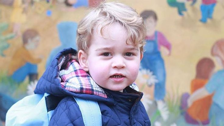 He's all grown up! See photos from Prince George's first day at nursery school