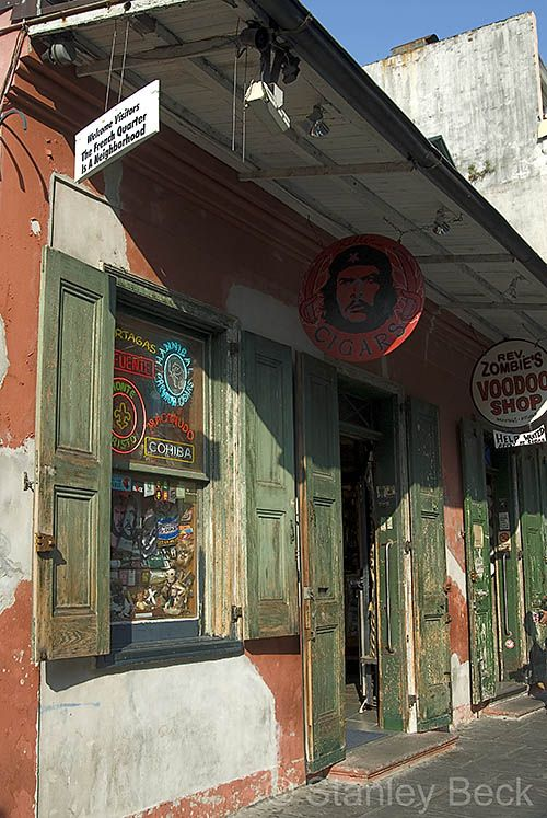 Cigar & Voodoo shops, French Quarter