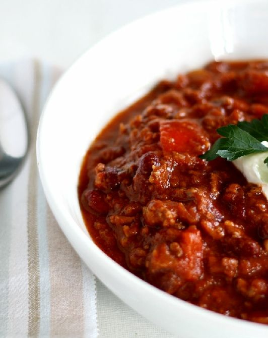 Low FODMAP and Gluten Free - Chili Con Carne with Rice www.ibssano.com ...