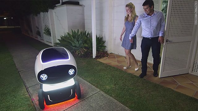 Domino's pizza delivery robot is coming to your door March 18