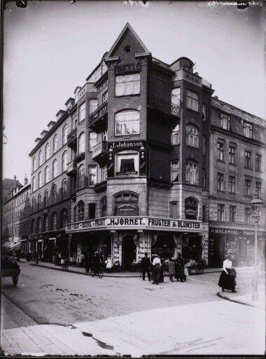 Værnedamsvej 8, 1918. Foto Peter Elfelt.