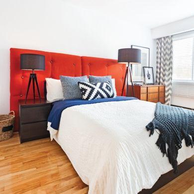 Une tête de lit 100% punchée! - Chambre - Inspirations - Décoration et rénovation - Pratico Pratique