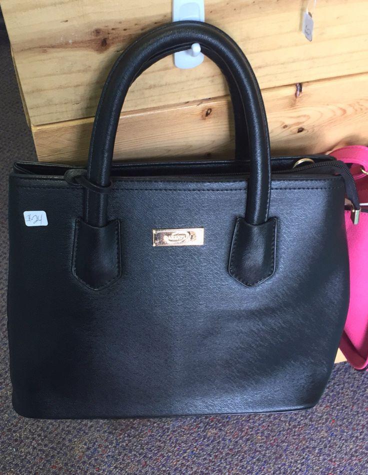 Black cross body satchel
