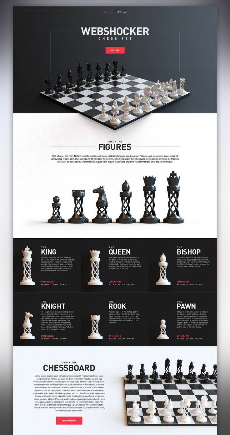 Dribbble - ws_chess_l.jpg by Webshocker