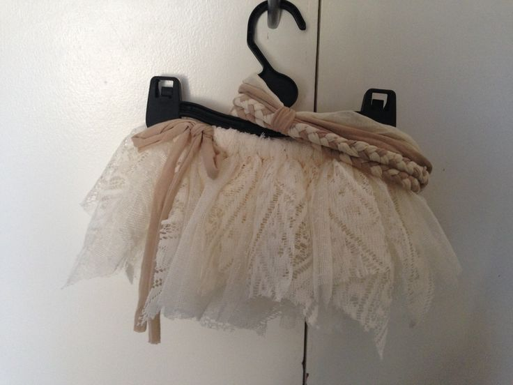 Lace Tutu with Braded Headband