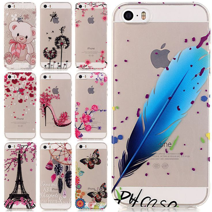 Capinha 5S New Arrival Ultrathin Soft TPU Silicone Case For iPhone 5 5S SE 5SE Coque For Apple iPhone 5 S Phone Case Cover Capa. Price is only $2.24