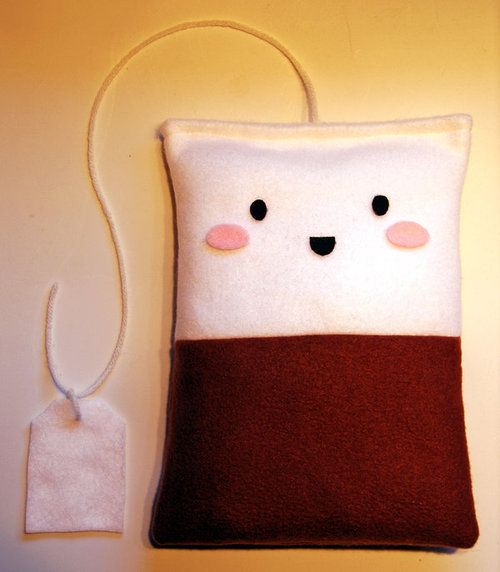 Teabag Pillow