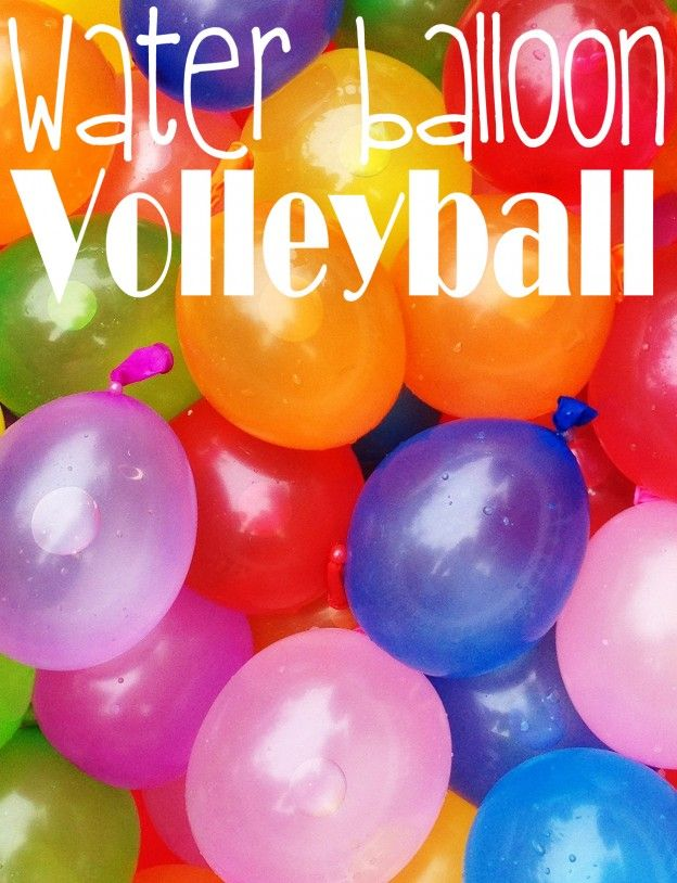 Water Balloon Volleyball for Field Day if it's hot out! wow that seems really fun I should try that
