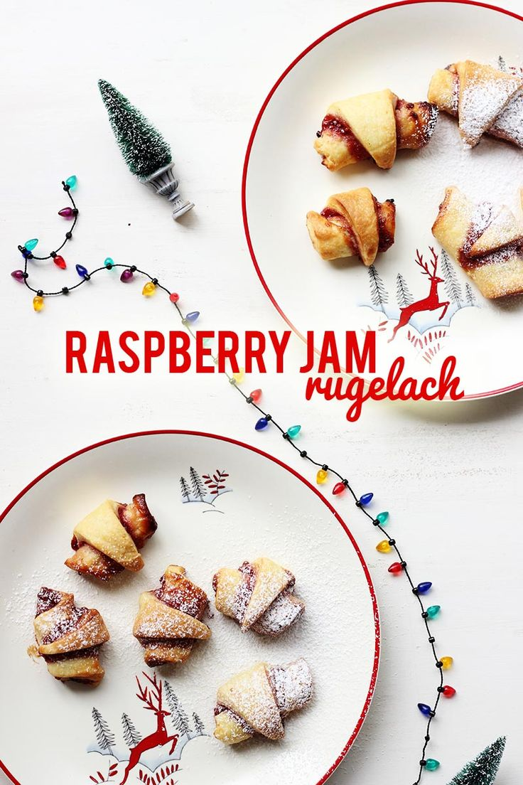 Cranberry Raspberry Rugalach Recipe — Dishmaps