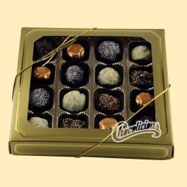 A Chocolicious Chocolate gift basket is perfect for the Chocoholic in your life.
