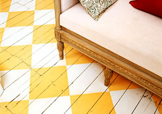 55 kreative Streichen Ideen für Holzbodenbelag - fresHouse