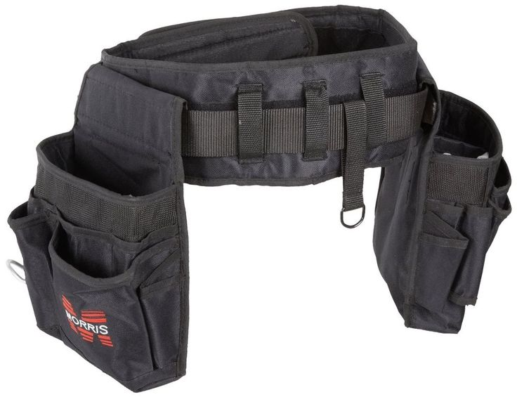 Tool Belt Pouch 32 Pockets Bag Utility Belt Electrician Carpenter Construction #MorrisProducts
