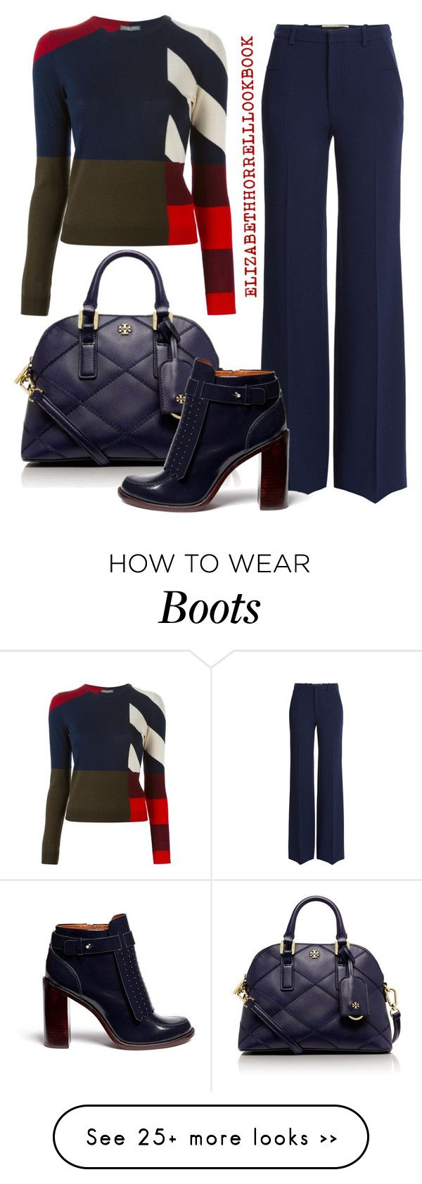 """LIZ"" by elizabethhorrell on Polyvore featuring Alexander McQueen, Tory Burch and Roland Mouret"