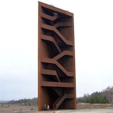 lars herting :: art, interior design & architecture / viewing tower, lake sedlitz, germany