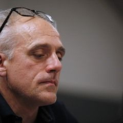 French presidential election candidate Philippe Poutou during a campaign meeting (331193)