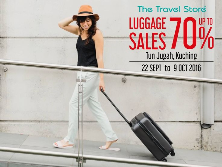 22 Sep-9 Oct 2016: The Travel Store Luggage Sale