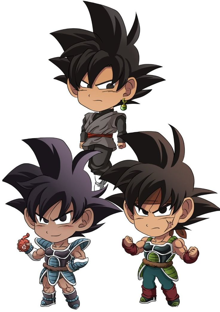 Black Goku, Turles, and Bardock | Dragon Ball | Pinterest