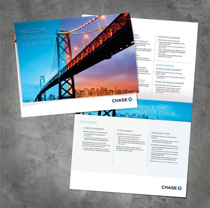 Image result for chase bank brochure #FinanceBrochure #FinanceImages