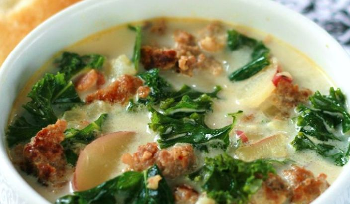 The Hugely Popular Olive Garden Zuppa Toscana Is The Best Soup For Fall