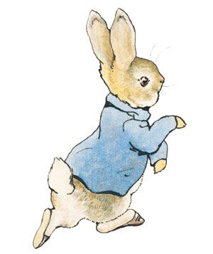 The Tale of Peter Rabbit, written and illustrated by Beatrix Potter
