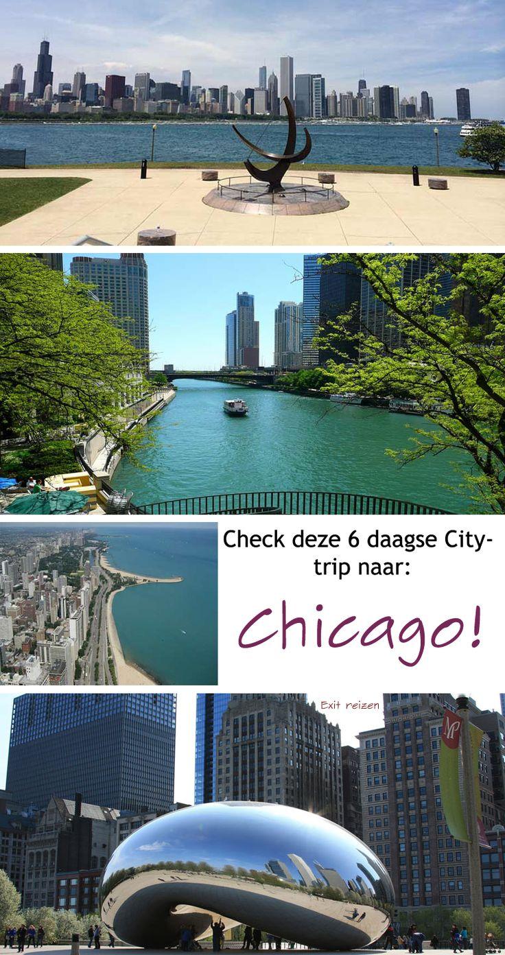 Met zijn 2,7 miljoen inwoners is Chicago een grote stad. Maar u zult er versteld van staan dat er vrij veel groen is en veel sfeervolle wijken. Tijdens deze trip kunt u dan ook genieten van mooie architectuur, parken en natuurlijk Lake Michigan. #reizen #vakantie #citytrip #trip #chicago #vakantie #zomer #buitenland #city #tour