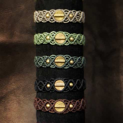 Spiral Tribe Macrame Bracelet Tribal Ethno от MacramaniaShop
