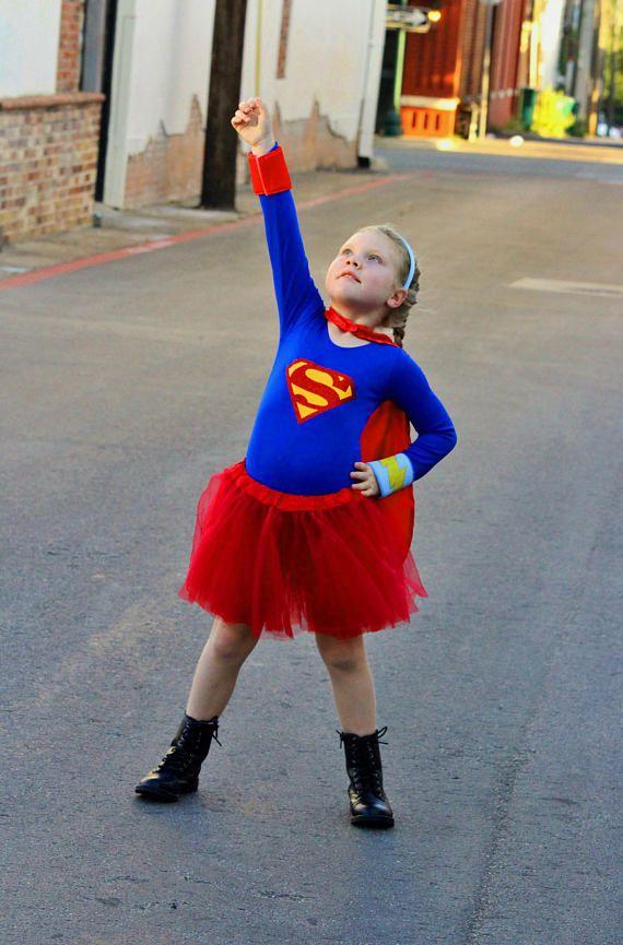 Girls Superhero Costume Toddler Halloween Costume Toddler