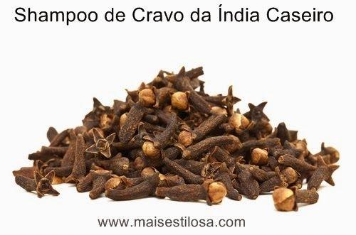 Mais Estilosa: Shampoo Caseiro de Cravo da India: Como Fazer e Crescimento Acelerados dos Cabelos