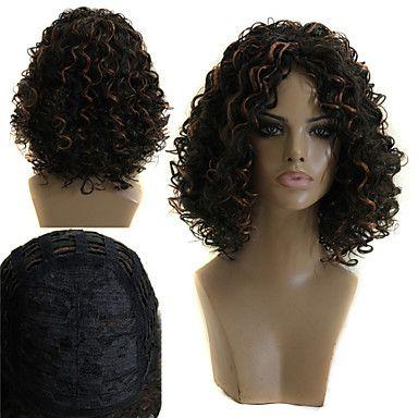 moda de alta qualidade sem cabelos crespos explosão capacitância de 4080891 2016 por R$88,39