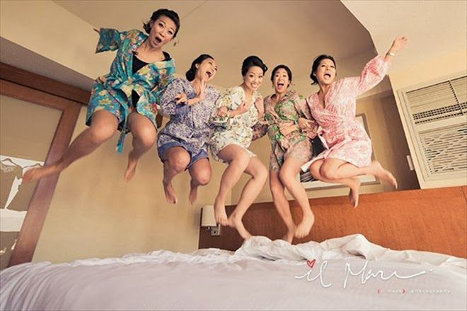 """Gathering your bridesmaids for some classic bridal party portraits is a-must. But after helping you crafting wedding favors and putting up with you talking non-stop about wedding plans over brunch, we think your girls and you deserve some fun together. Spice up those """"Always a Bridesmaid"""" memories with these creative and fun photo shoot ideas. read more..."""