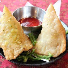 サモサ(samosa) indian dumplingインド料理RAJU halal kyoto shiga - インド料理RAJU