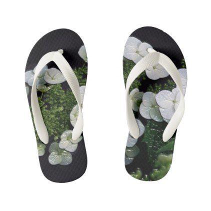 Custom Flip Flops Kids toddler Kid's Flip Flops - toddler youngster infant child kid gift idea design diy