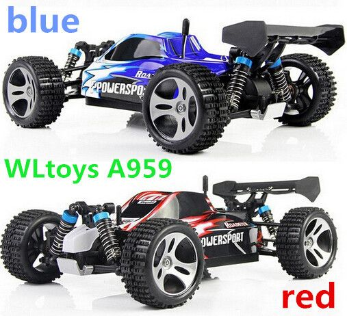 Wl игрушки A959 электрические Rc автомобили 4WD приводной вал грузовики высокоскоростной управления по радио монстр грузовик сверхдержава готов к запуску