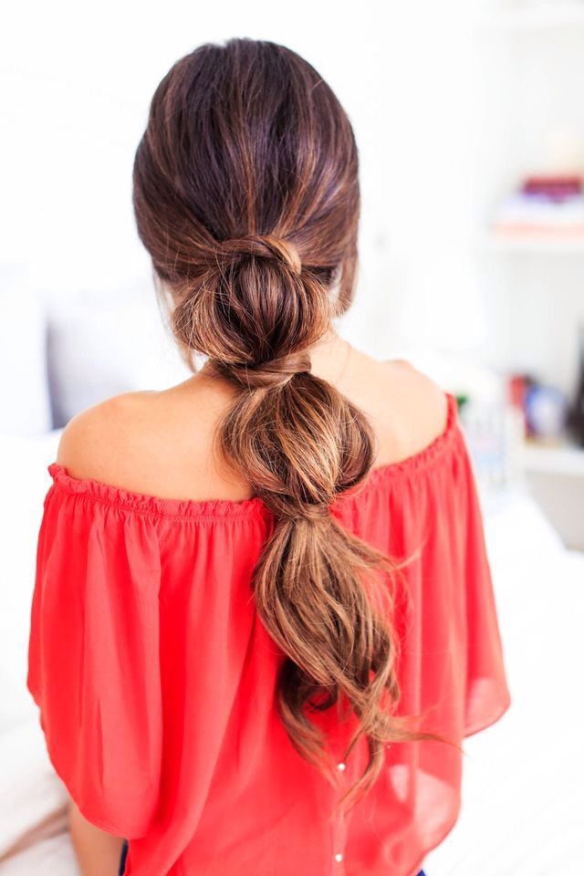 3 Lazy long hair styles