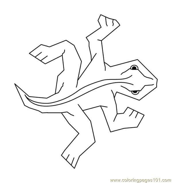 M.C. Escher - Lizard tile - Free printout. Color as desired and make wall display representing the personalities of your classroom.
