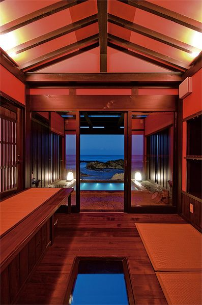 Noto hot spring Inn, Noto peninsula, Ishikawa-Ken, Japan