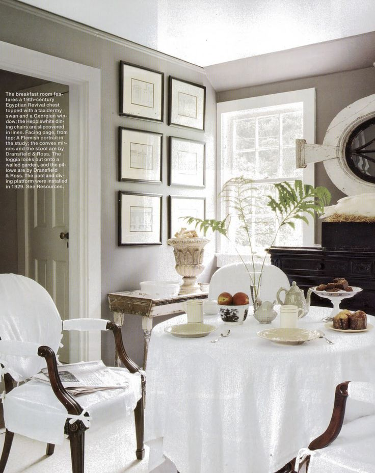 A divine dining room interior design john dransfield and for Divine interior designs