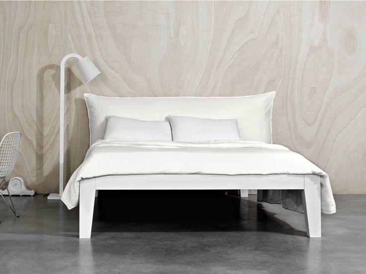 Die besten 25+ Doppelbett aus Holz Ideen auf Pinterest - einrichtungsideen schlafzimmer betten roche bobois