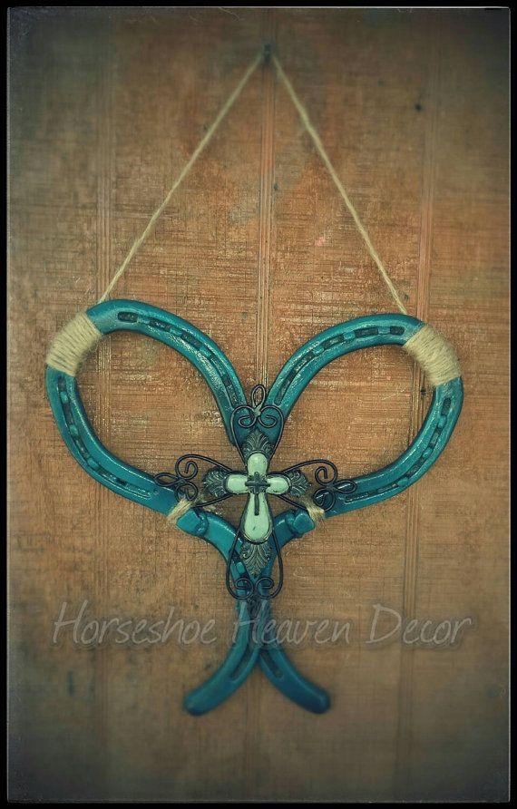 291 best horseshoes images on pinterest horse shoes for Horseshoe arts and crafts