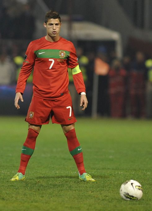 Cristiano Ronaldo. #portugal One real bad dude!
