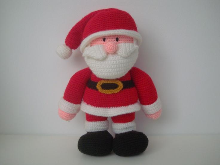 Amigurumi Santa Claus  https://www.facebook.com/hilaria.fina