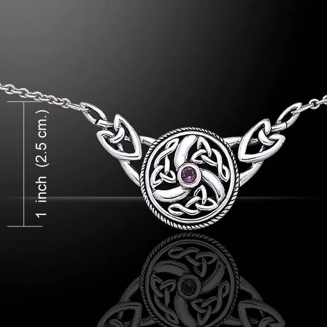 Gioielli : Collana con nodo celtico
