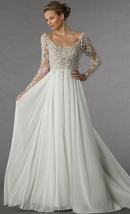 Featured Dress: Alita Graham for Kleinfeld; Wedding dress idea.