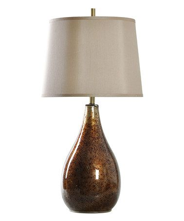 Look what I found on #zulily! Ansfeldon Transitional Glass Table Lamp #zulilyfinds