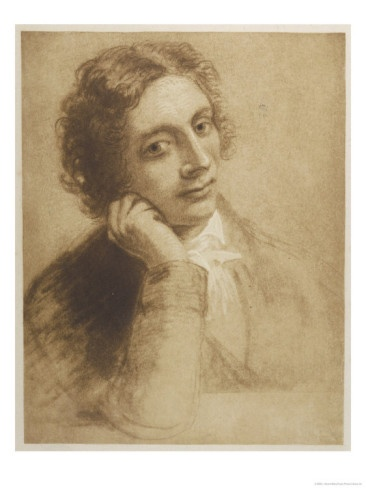 """John Keats (1795-1821): An English Romantic poet, widely celebrated for his poetry despite dying young, at 26, of tuberculosis. Born premature, a premature death, Keats was truly a """"fair creature of an hour"""" who nonetheless left a lasting mark with his poems."""